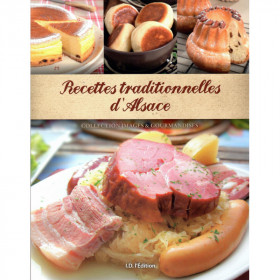 Livre de Recettes Traditionnelles d'Alsace