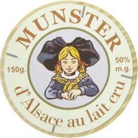 Dekorative Magnet Munster Alsace in La Boite aux Trésors in Obernai