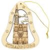 Décoration en Bois à suspendre Cathédrale de Strasbourg