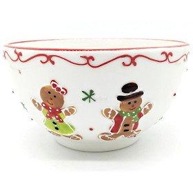 Mannele Lebkuchen-Keramik-Lunchschale