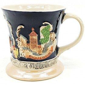 Tasse Mug en Faience décorée de Villes d'Alsace
