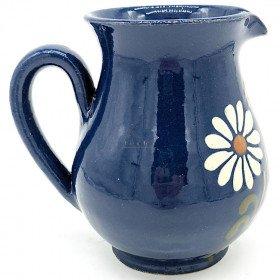 Pichet à Vin 25 cl Bleu de Soufflenheim Marguerite