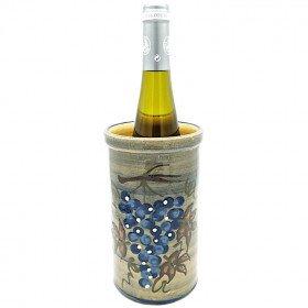 Brique à Vin Soufflenheim Bleu Pinceau Vignoble La Boite aux Trésors à Obernai