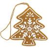 Hängender Filz-Schnee-Weihnachtsbaum
