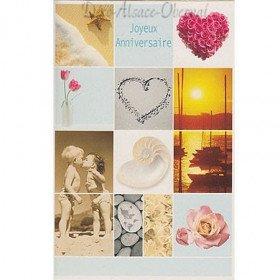 Alles Gute zum Geburtstag Karte Zärtlichkeit