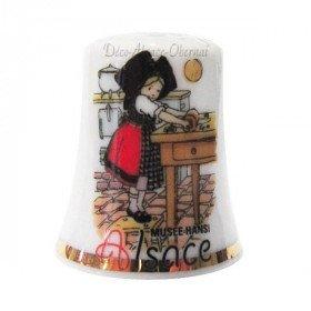 Hansi Ceramic Thimble La Petite Patissière