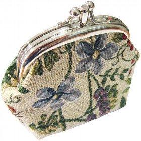 Gate-Muster Mint Tapestry-Garten-Blumen