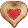 Coupelle en Céramique décor Coeurs d'Alsace
