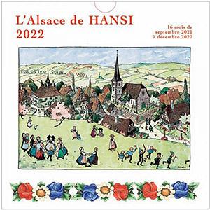 Kalender das Elsass de Hansi 2022