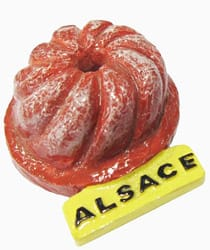 Collection de Magnet d'Alsace
